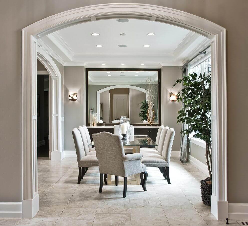Краткий обзор лепнины из полиуретана Обрамление дверных межкомнатных проемов