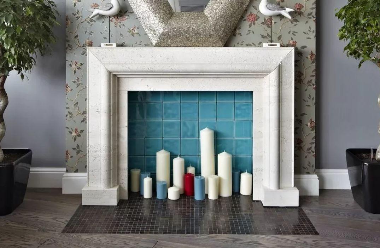 Камины Стиль минимализм Лепной интерьерный декор