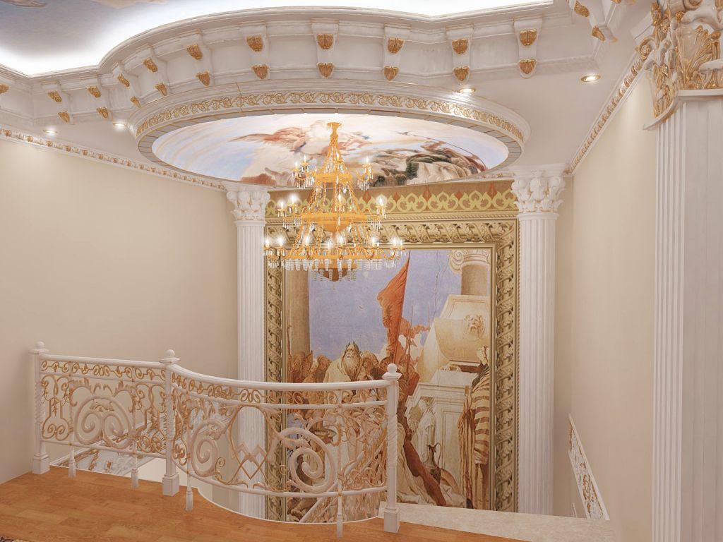 Выбираем декоративные элементы для интерьерных решений: Как сделать интерьер в дворцовом стиле? Расписные купола