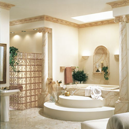 Декоративные элементы для украшения интерьера: Потолочные розетки и ниши